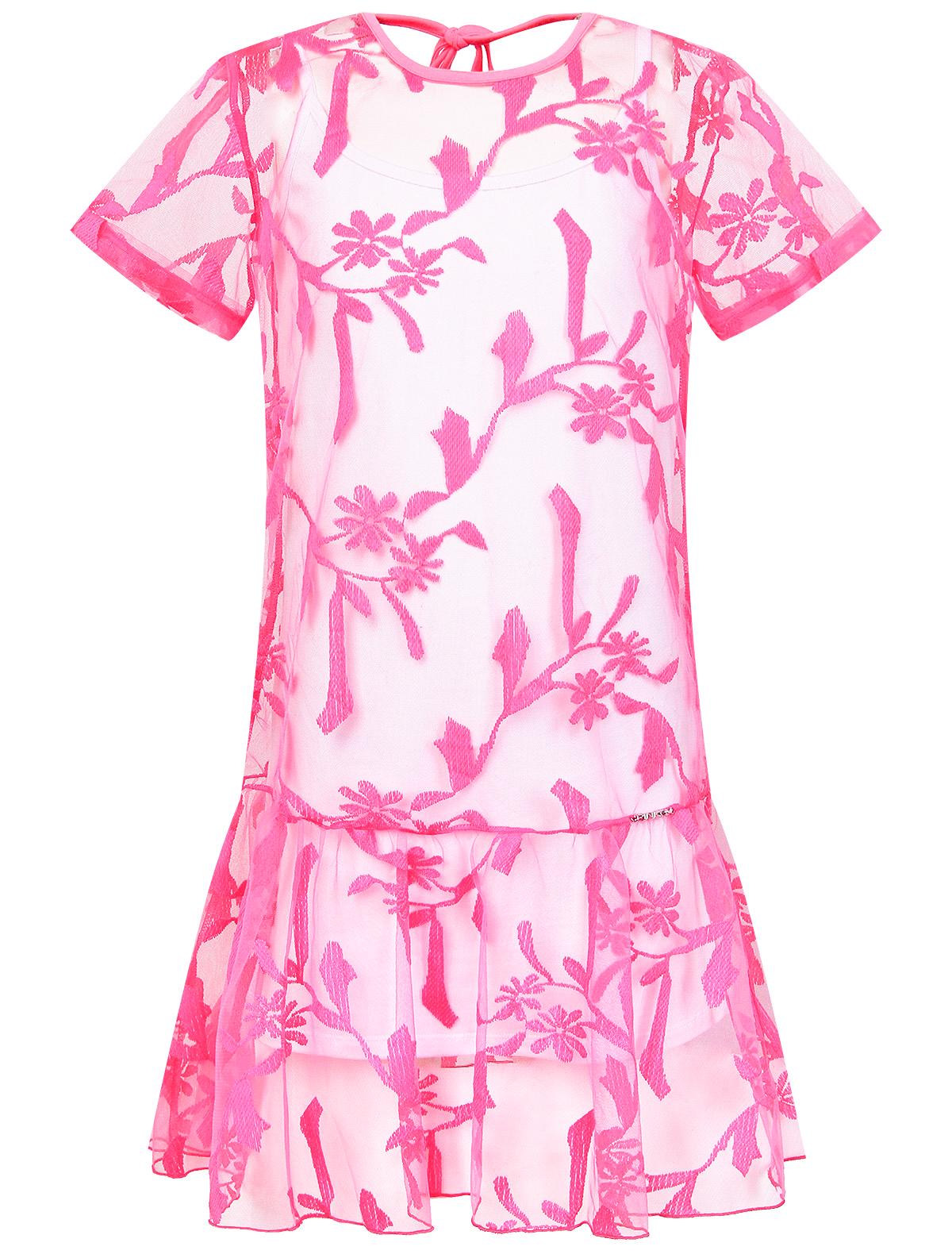 Купить Платье Pinko, 1054509070575, Розовый, Для девочки – цены в интернет-магазине детских товаров Даниэль - в Москве
